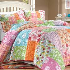 Girls Quilted Bedding by Aloha Tropical Quilt Girls Bedding Collection Quilts Pinterest