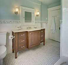Traditional Bathroom Ideas Photo Gallery Colors Basketweave Floor Tile Powder Room Traditional With Basketweave