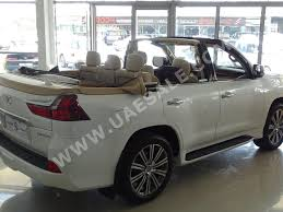 lexus lx in dubai this 2016 lexus lx570 with a chopped roof is listed for 350 000