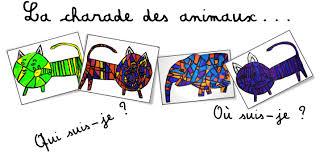 arts plastiques la charade des animaux bout de gomme bloglovin u0027