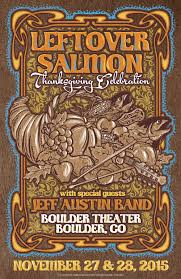 new jeff band thanksgiving dates with leftover salmon