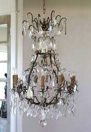 Crystal And Bronze Chandelier 342 Best Chandelier Images On Pinterest Crystal Chandeliers