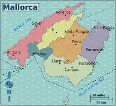 Mallorca Spain Map by Mallorca U2013 Travel Guide At Wikivoyage