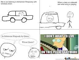 Bohemian Rhapsody Memes - bohemian rhapsody by ajm0031 meme center