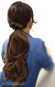 brunette easy hairstyles how to 4 easy lazy hairstyles for school everyday for medium or