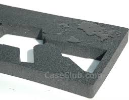 mcmillan rifle foam insert templates for cases