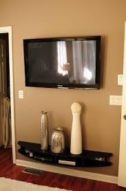 built in tv wall favorite neutral wall tv mounted shelf also wall mounted tv idea