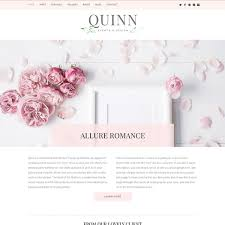Shabby Chic Website Templates by Feminine Wordpress Themes Bluchic