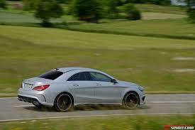 Modified A Class Mercedes Road Test 2014 Mercedes Benz Cla 45 Amg Gtspirit