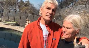 California Wildfires Yahoo by Couple Survives California Napa Valley Fires In Neighbor U0027s Pool