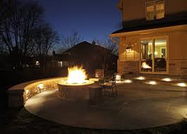 Patio Wall Lighting Patio Wall Lighting Ideas Deck And Patio Lighting Mckay