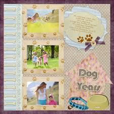 Dog Scrapbook Album Scrapbook Templates U0026 Samples Digital Scrapbook Software