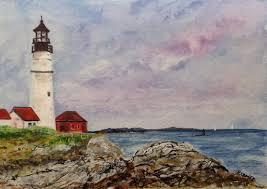 portland head light lighthouse portland headlight lighthouse maine kellie chasse s fine art