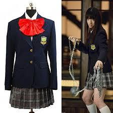 Dark Link Halloween Costume Kill Bill Cosplay Costume Gogo Yubari Dark Blue Uniform Female