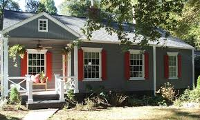 Exterior Mobile Home Makeover by Cabin Exterior Paint Schemes Exterior Paint Color Suggestions