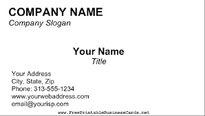 business card blank template business letter template