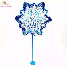 snowflake balloons hey 50pcs lot snowflake balloons 50cm 57cm birthday