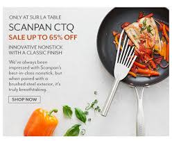 sur la table scanpan sur la table scanpan sale save on our favorite nonstick milled