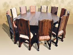 dining room tables that seat 12 or more awesome dining table large round dining table seats 12 pythonet home