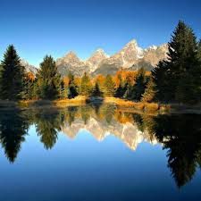 mountain autumn forest lake nature wallpaper 1024x1024 hgarts uk