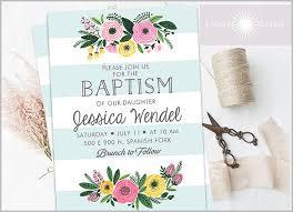 brunch invitation sle baptism invitation template 28 free psd vector eps ai format