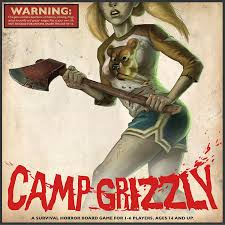 bk code for halloween horror nights amazon com camp grizzly a survival horror board game by