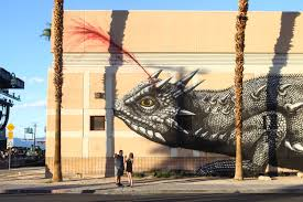 banksy d face and how life is beautiful transformed downtown las the project called rise above takes inspiration from miami s wynwood district which hosts the international art basel festival each year and is the