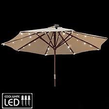 Patio Umbrella Lights Led Gemmy Patio Umbrella Solar Led Lights