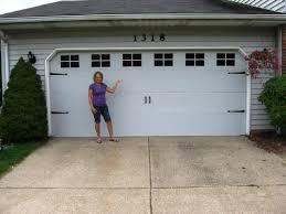 Garage Door Designs Easy Paint Fiberglass Garage Doors Home Design Ideas Door