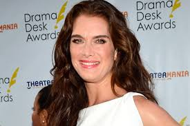 brooke shields without makeup the actress steps out bare faced