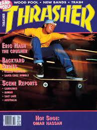 Backyard Skateboarding Thrasher Magazine October 1990