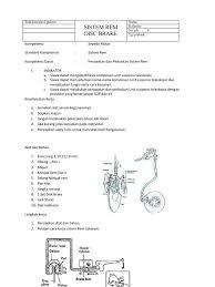 job sheet sepeda motor kelas x rem cakram