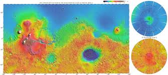 Topographic Map Of Europe by Large Scale Hires Detailed Topographic Map Of Mars Vidiani Com