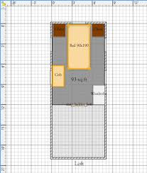 free tiny house floor plans 8 u0027 x 20 u0027 house plan with install able