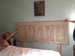 diy headboard i made from old barn door my next big project