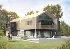 meadow house modern residential new build contemporary winchester