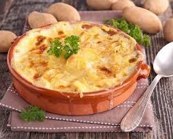 cuisine franc comtoise recette gratin franc comtois au fromage à raclette