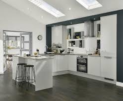 Howdens Kitchen Design Greenwich Gloss Dove Grey Kitchen Universal Kitchens Howdens
