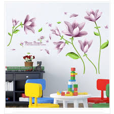 online get cheap elegant wall panels aliexpress com alibaba group elegant bouquet of wall paper wall can remove background bedroom wall stickers china mainland