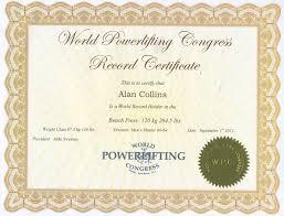 World Bench Press Record Holder Wpc World Record Cert Gif