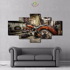 Posters For Home Decor by Online Get Cheap Wall Art Motorcycle Aliexpress Com Alibaba Group