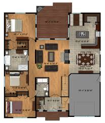 One Level Living Floor Plans Timber Block Ecological Homes Revolutionary Technology Results In