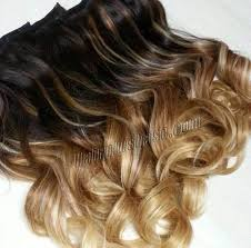 human hair clip in extensions 16 inch harmonious ombre clip in remy human hair extensions three