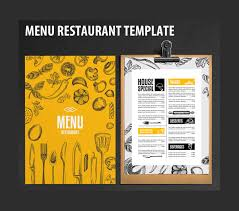 restaurant menu template u2013 20 free psd eps documents download