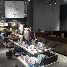 home design stores calgary west elm opens its first calgary location