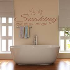 Bathtub Stickers Wall Art Ideas Design Quotes Decorations Wall Art For Bathroom