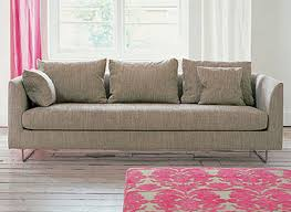 designers guild sofa contemporary sofa fabric 3 seater beige balance