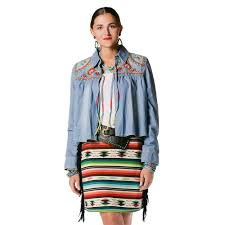 Double D Ranch Clothing Teskey U0027s Saddle Shop Double D Ranchwear Little Flower Serape Skirt