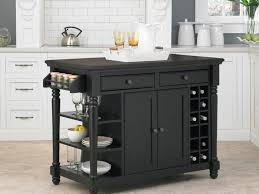 kitchen cart kitchen utility cart with electrical outlet