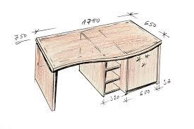 dessin de bureau retrait de dessin à levée moderne de bureau de conception
